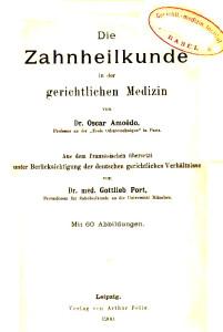 AMOEDO German Trans 1900