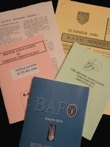 Bafo newsletter covers 2