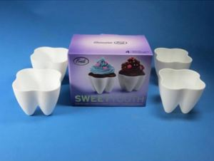Tooth cupcake moulds from RCS